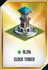 Clock Tower Card