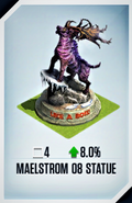 Malestrom 08 Statue Card