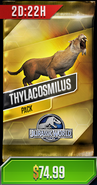 Thylacosmilus Purchasable Pack