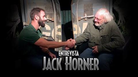 ¿Dinosaurios EMPLUMADOS en JURASSIC WORLD 3? Entrevista a Jack Horner - JW The Exhibition