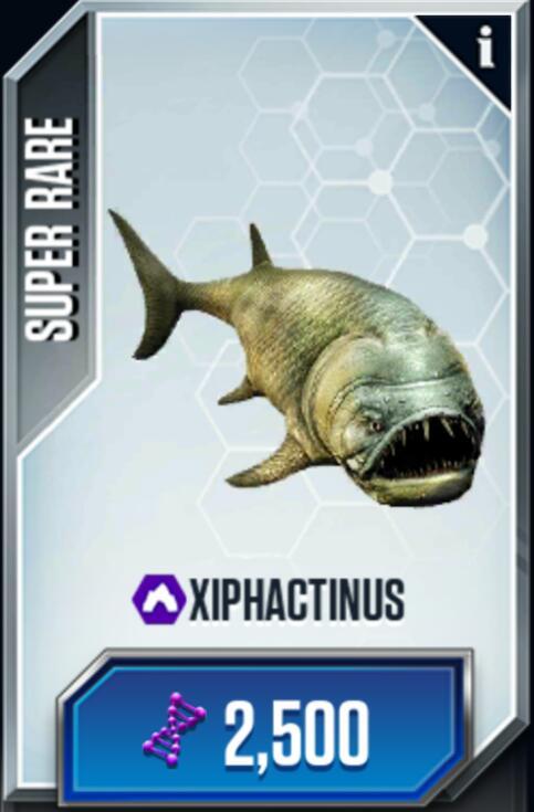 Xiphactinus | Jurassic Park wiki | FANDOM powered by Wikia