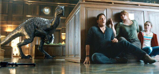 Jurassic World 2 Szene Verstecken