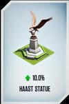 Haast Statue Card
