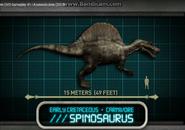 Jurassic Park Explorer Spinosaurus
