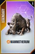 Mammotherium Card