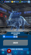 Einiosaurus Hologram JWE
