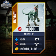 Troodon Stat Quiz