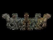 Jurassic world alive velociraptors by gr 85 dcmwmdb-pre