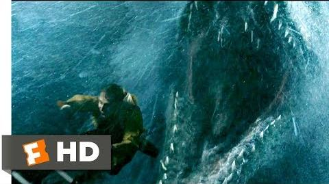Jurassic World Fallen Kingdom (2018) - Mosasaurus Attack Scene (1 10) Movieclips