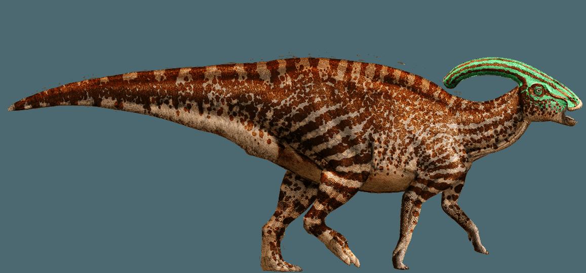 3/'/' Tall Jurassic Parasaurolophus Dinosaur Model Toy Animal Figure Green