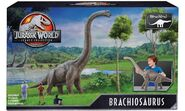 Mattel Jurassic World Legacy Collection Brachiosaurus box