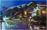 Tyrannosaurus rex goes home