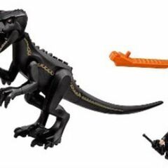 Jouet LEGO représentant l'Indoraptor