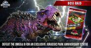 Omega 09 and Jurassic Park Pack