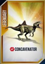 Concavenator carte