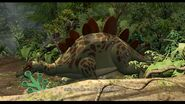LEGO game Stegosaur intro