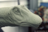 Mamenchisaurus Head Sculpt