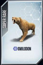 Smilodon card