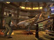 Gerry Harding and Tyranosaurus