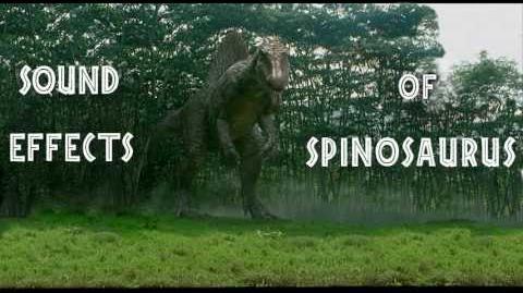 Jurassic Park III - Spinosaurus Sound Effects