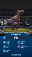 Pyroraptor JWA