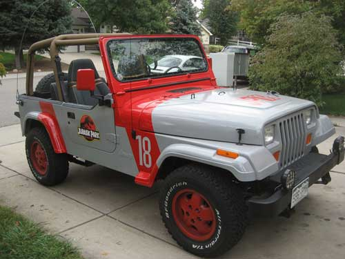 Jeep Wrangler Staff Vehicles