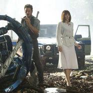 Owen Y Claire con la giosfera