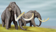 Steppe mammoths by dibgd-d52q8i8