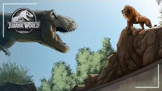 The Roar That Rules It All - Motion Comic Ep. 3 Jurassic World