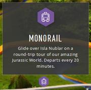 JW monorail map info