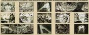Jurassic Park the Ride storyboards