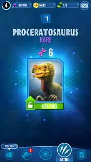 Proceratosaurus Unlock