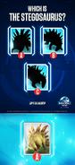 Stegosaurus Icon Quiz