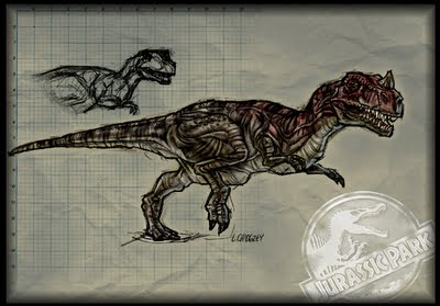 Ceratosaurus art