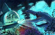 Aquatic jurassic park by martinmiguel-d7emem6