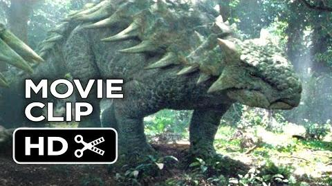 Jurassic World Movie CLIP - Dinosaurs in the Woods (2015) - Chris Pratt Movie HD-0