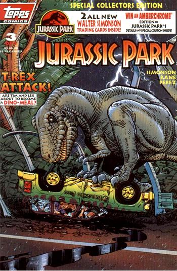 Jurassic Park III (Topps)   Jurassic Park wiki   FANDOM