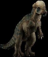 Jurassic park pachycephalosaurus by camo flauge-dcfu6qx
