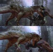 Spino vs rex