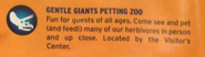 Gentle Giant Petting Zoo JW map