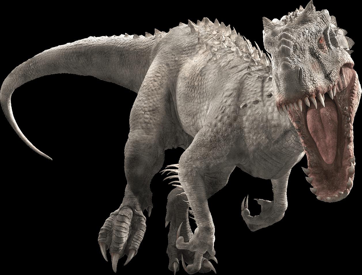 NEW White Indominus T Rex Jurassic World Big Figure Dinosaur Park