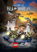 LEGO Legend of Isla Nublar T. rex and BaBR Allosaurus