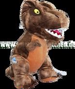 Jurrasic world stofftier plsch figur dinosaurier tyrannosaurus rex jurassic park braun xl szk