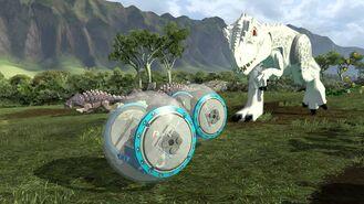 Gyrosphere indominus chase