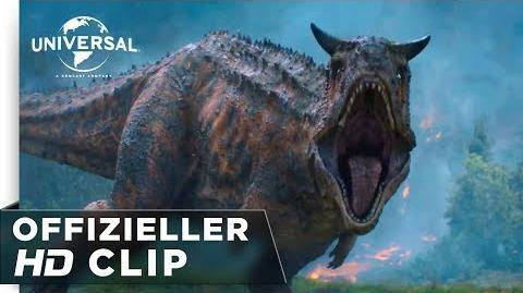 """Jurassic World Das Gefallene Königreich - Clip """"Der Carnotaurus pirscht sich an"""" deutsch german HD"""