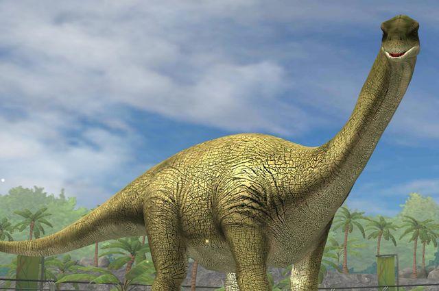 картинки большого динозавра времён института