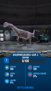 Dilophosaurus Gen 2 JWA