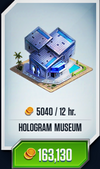 Hologram Museum Card