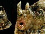 Triceratops Human Hybrid