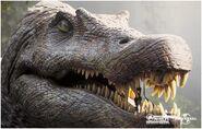 Spinosaurus close up
